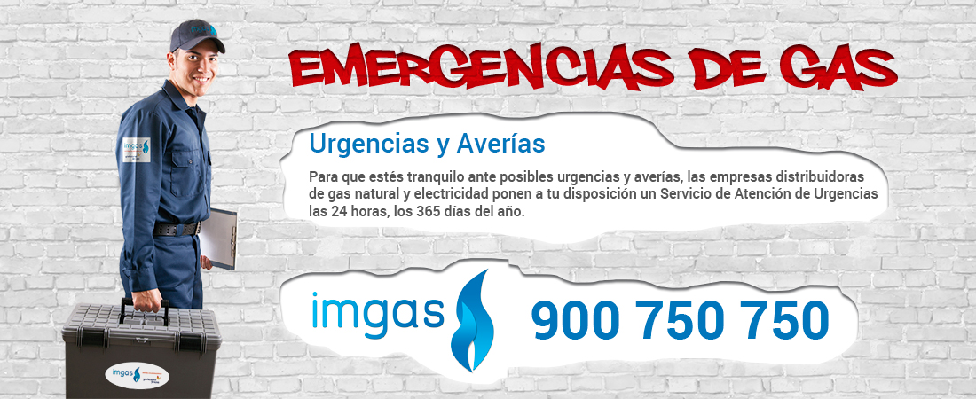 Averias gas natural